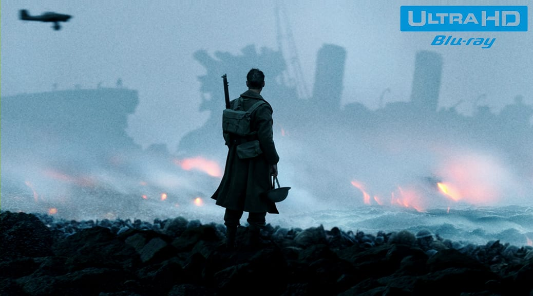Dunkerque (2017) de Christopher Nolan - Blu-ray 4K Ultra HD