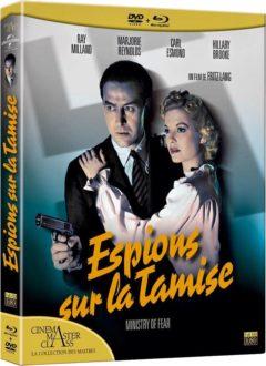 Espions sur la Tamise (1944) de Fritz Lang - Packshot Blu-ray