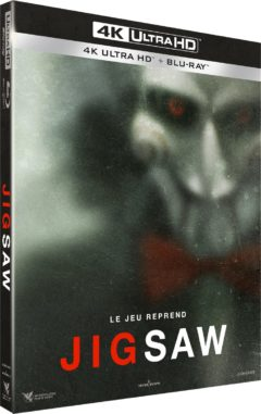 Jigsaw (2017) de Michael Spierig & Peter Spierig – Packshot Blu-ray 4K Ultra HD