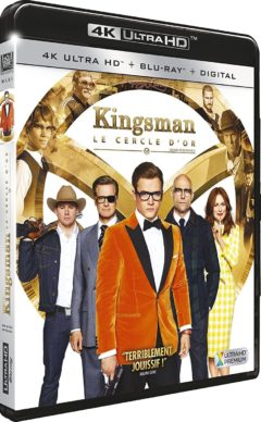 Kingsman 2 : Le Cercle d'Or (2017) de Matthew Vaughn - Packshot Blu-ray