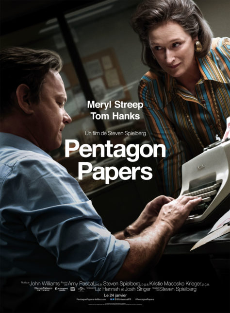 Pentagon Papers - Affiche