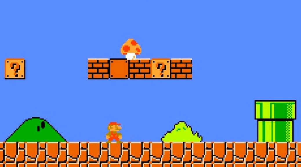 Super Mario Bros - 8 bit