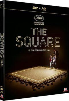 The Square (2017) de Ruben Östlund - Packshot Blu-ray