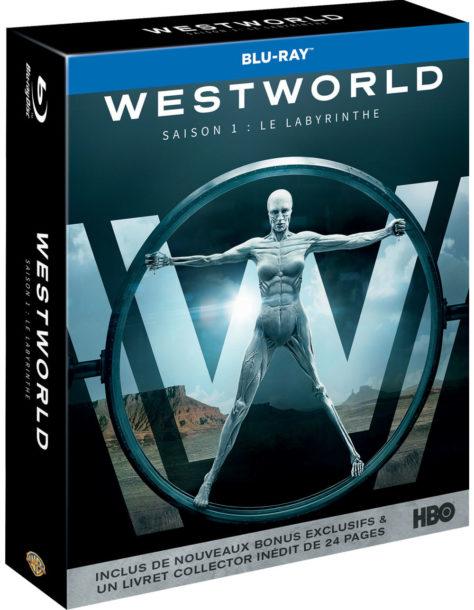 Westworld - Saison 1 - Jaquette Blu-ray