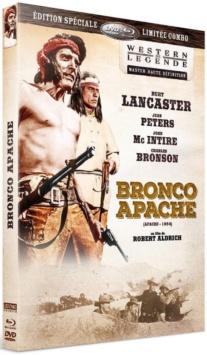 Bronco Apache (1954) de Robert Aldrich - Packshot Blu-ray (Sidonis)