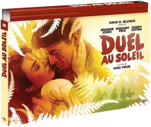 Duel au soleil – Édition Coffret Ultra Collector – Blu-ray + DVD + Livre (1946) de King Vidor - Packshot Blu-ray (Carlotta)