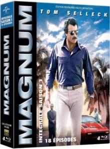 Magnum – Saison 1 (1980) de Glen A. Larson et Donald P. Bellisario - Packshot Blu-ray (Elephant Films)