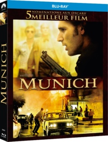 Munich (2005) de Steven Spielberg - Packshot Blu-ray (Paramount Home Entertainment France)