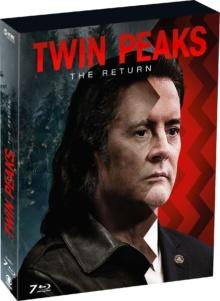 Twin Peaks : The Return – Saison 3 (2017) de David Lynch et Mark Frost - Packshot Blu-ray (Paramount Home Entertainment France)