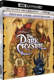 Dark Crystal (1982) de Jim Henson et Frank Oz – Packshot Blu-ray 4K Ultra HD