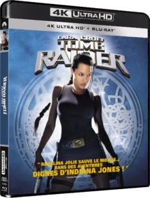 Lara Croft : Tomb Raider (2001) de Simon West – Packshot Blu-ray 4K Ultra HD