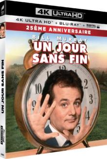 Un jour sans fin (1993) de Harold Ramis – Packshot Blu-ray 4K Ultra HD