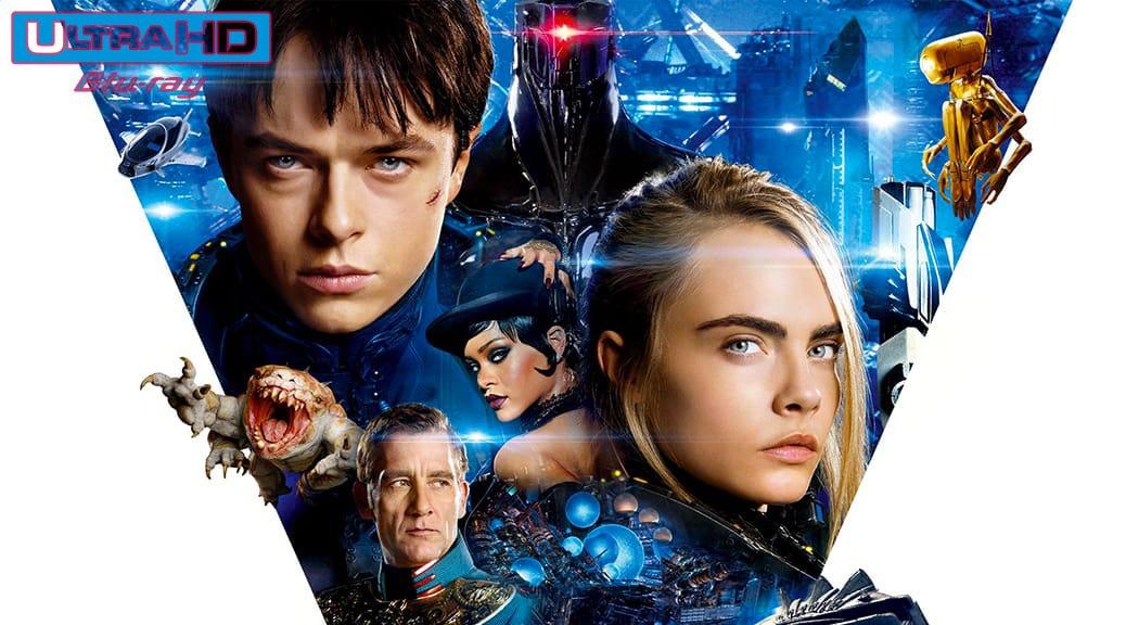 Valérian et la Cité des Mille Planètes (2017) de Luc Besson – Blu-ray 4K Ultra HD