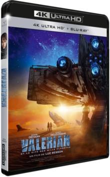 Valérian et la Cité des Mille Planètes (2017) de Luc Besson – Packshot Blu-ray 4K Ultra HD