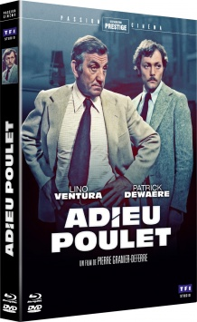 Adieu poulet (1975) de Pierre Granier-Deferre - Packshot Blu-ray