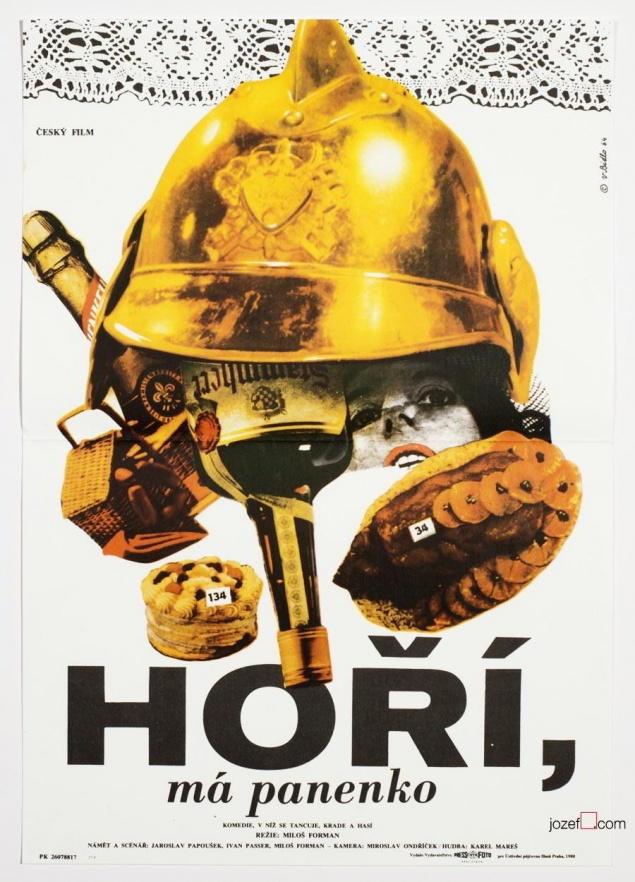 Milos Forman - Au feu les pompiers