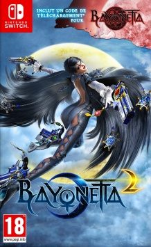 Bayonetta 1 & 2 - Packshot Nintendo Switch