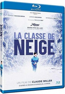 La Classe de neige (1998) de Claude Miller - Packshot Blu-ray