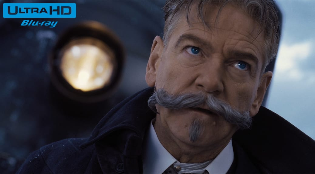 Le Crime de l'Orient-Express (2017) de Kenneth Branagh - Blu-ray 4K Ultra HD