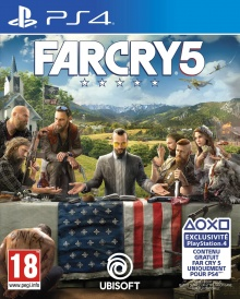 Far Cry 5 - Packshot PlayStation 4