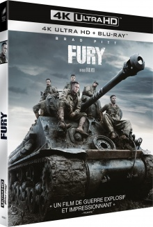 Fury (2004) de David Ayer - Packshot Blu-ray 4K Ultra HD