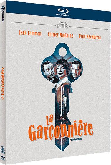 La Garçonnière - Jaquette Blu-ray