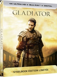 Gladiator (2000) de Ridley Scott - Packshot Blu-ray 4K Ultra HD
