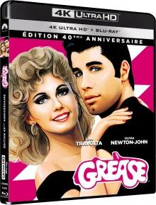 Grease (1978) de Randal Kleiser - Packshot Blu-ray 4K Ultra HD