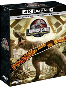 Jurassic Park - Collection 25ème anniversaire - Packshot Blu-ray 4K Ultra HD