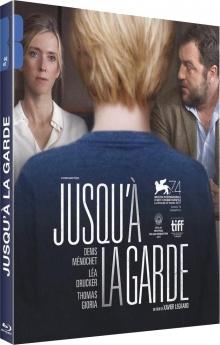 Jusqu'à la garde (2017) de Xavier Legrand - Packshot Blu-ray