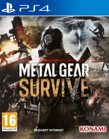 Metal Gear Survive - Packshot PlayStation 4