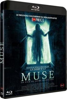 Muse (2017) de Jaume Balagueró - Packshot Blu-ray
