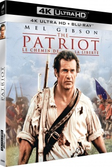 The Patriot : Le chemin de la liberté (2000) de Roland Emmerich - Packshot Blu-ray 4K Ultra HD