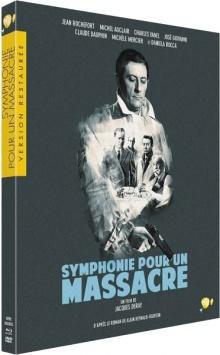 Symphonie pour un massacre (1963) de Jacques Deray - Packshot Blu-ray