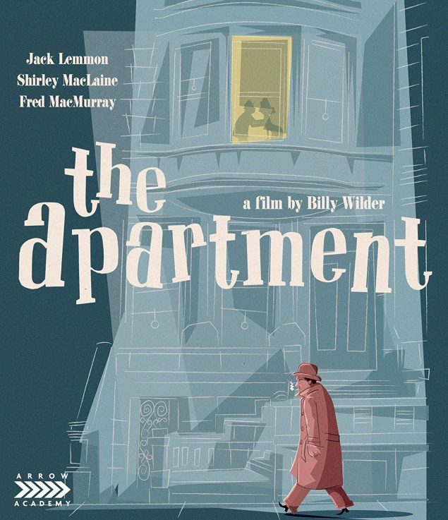The Apartment - Jaquette Blu-ray Arrow Video