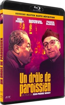 Un Drôle de paroissien (1963) Jean-Pierre Mocky - Packshot Blu-ray