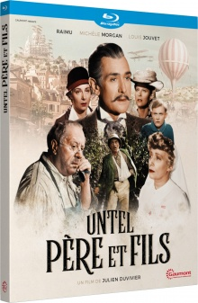 Untel père et fils (1943) de Julien Duvivier - Packshot Blu-ray