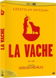 La Vache (1969) de Dariush Mehrjui - Packshot Blu-ray