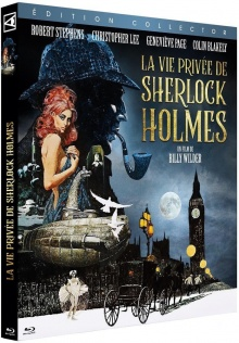 La Vie privée de Sherlock Holmes (1970) de Billy Wilder - Packshot Blu-ray