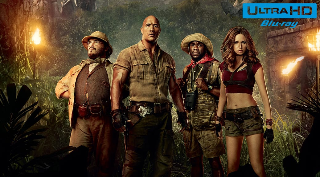 Jumanji : Bienvenue dans la jungle (2017) de Jake Kasdan - Blu-ray 4K Ultra HD