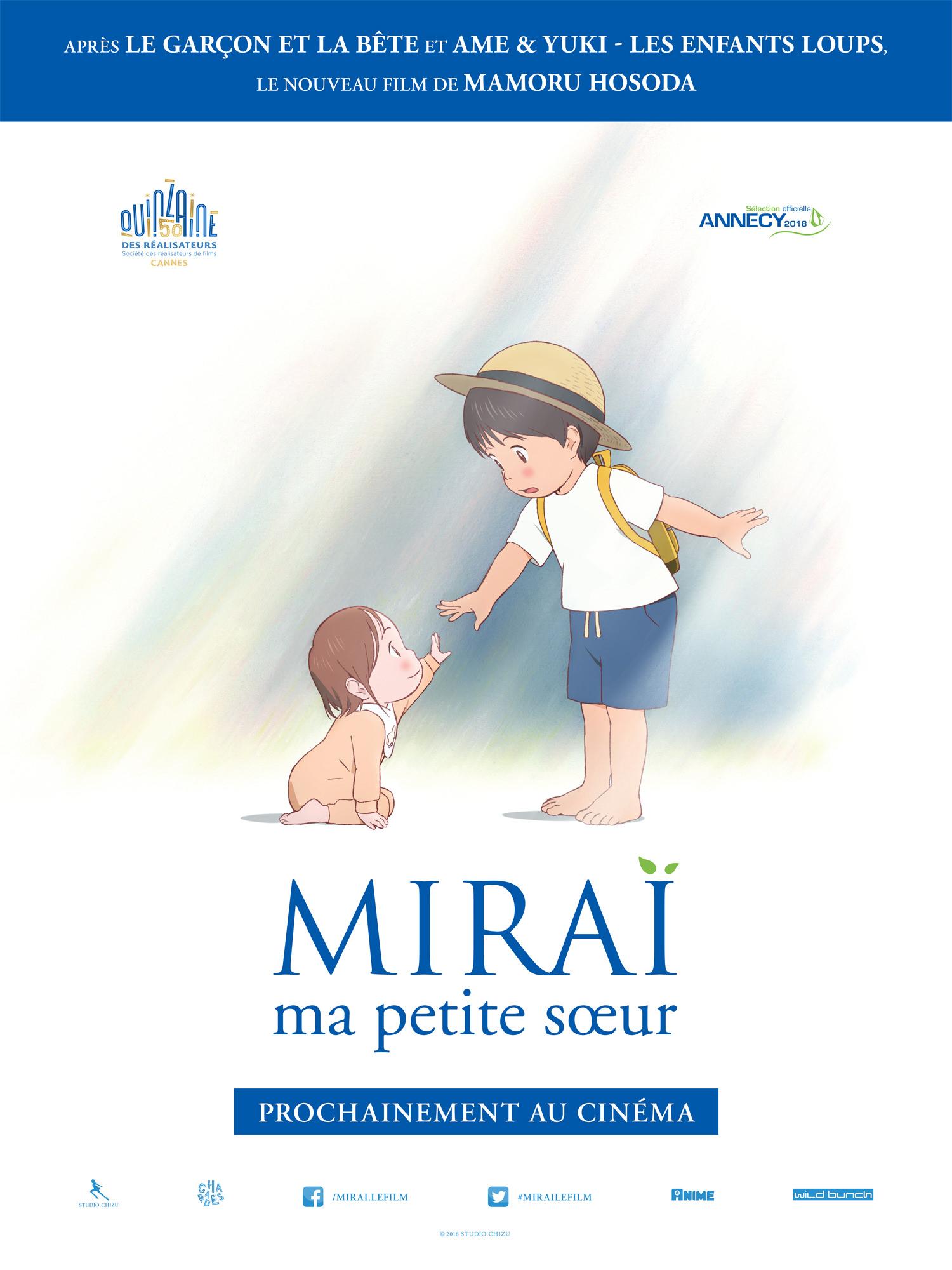 Miraï - Affiche Cannes 2018