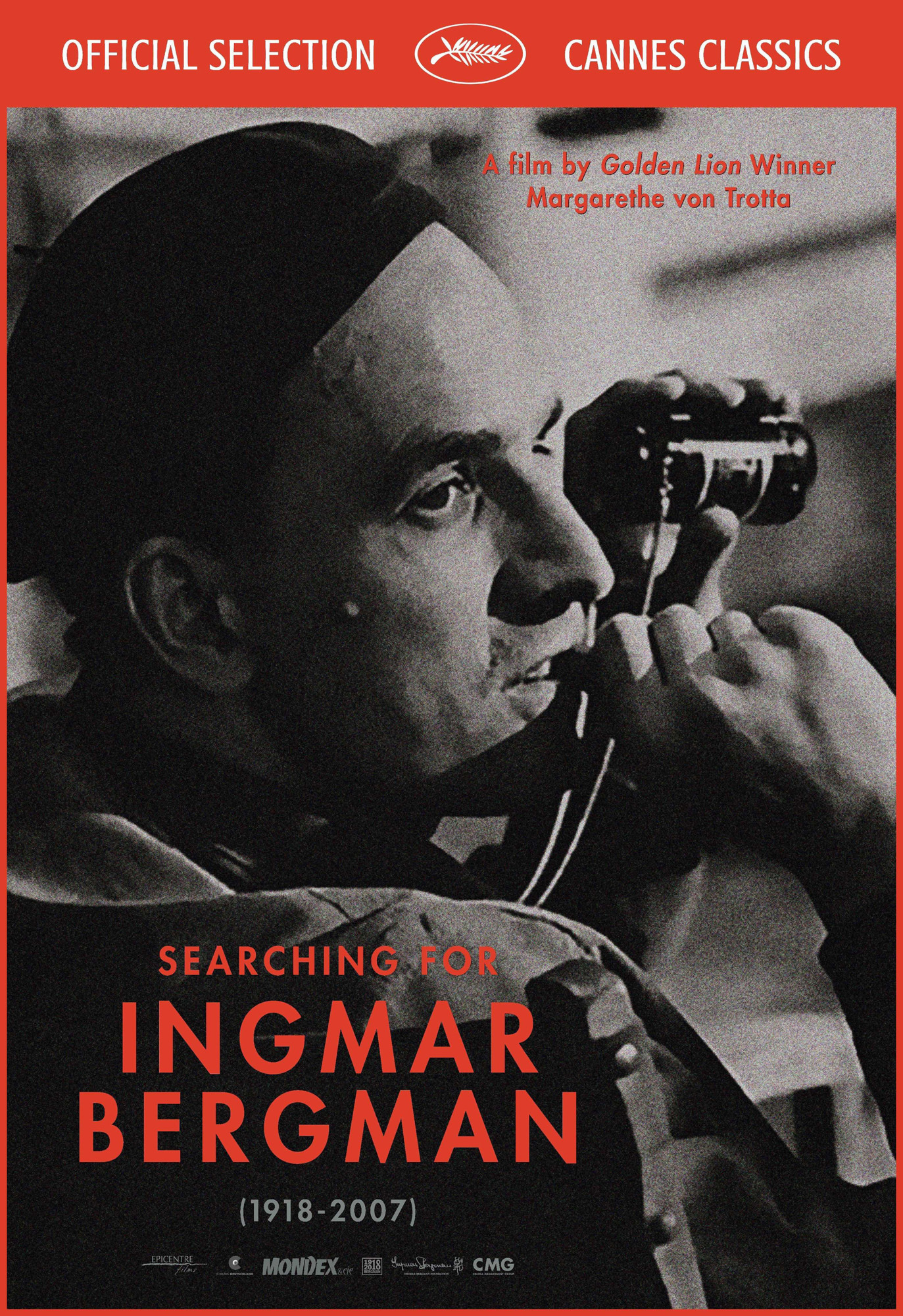 Searching for Igmar Bergman - Affiche Cannes 2018