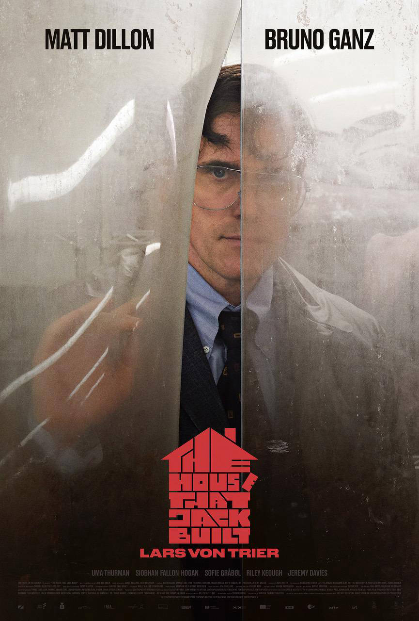 The House That Jack Built - Affiche Cannes 2018