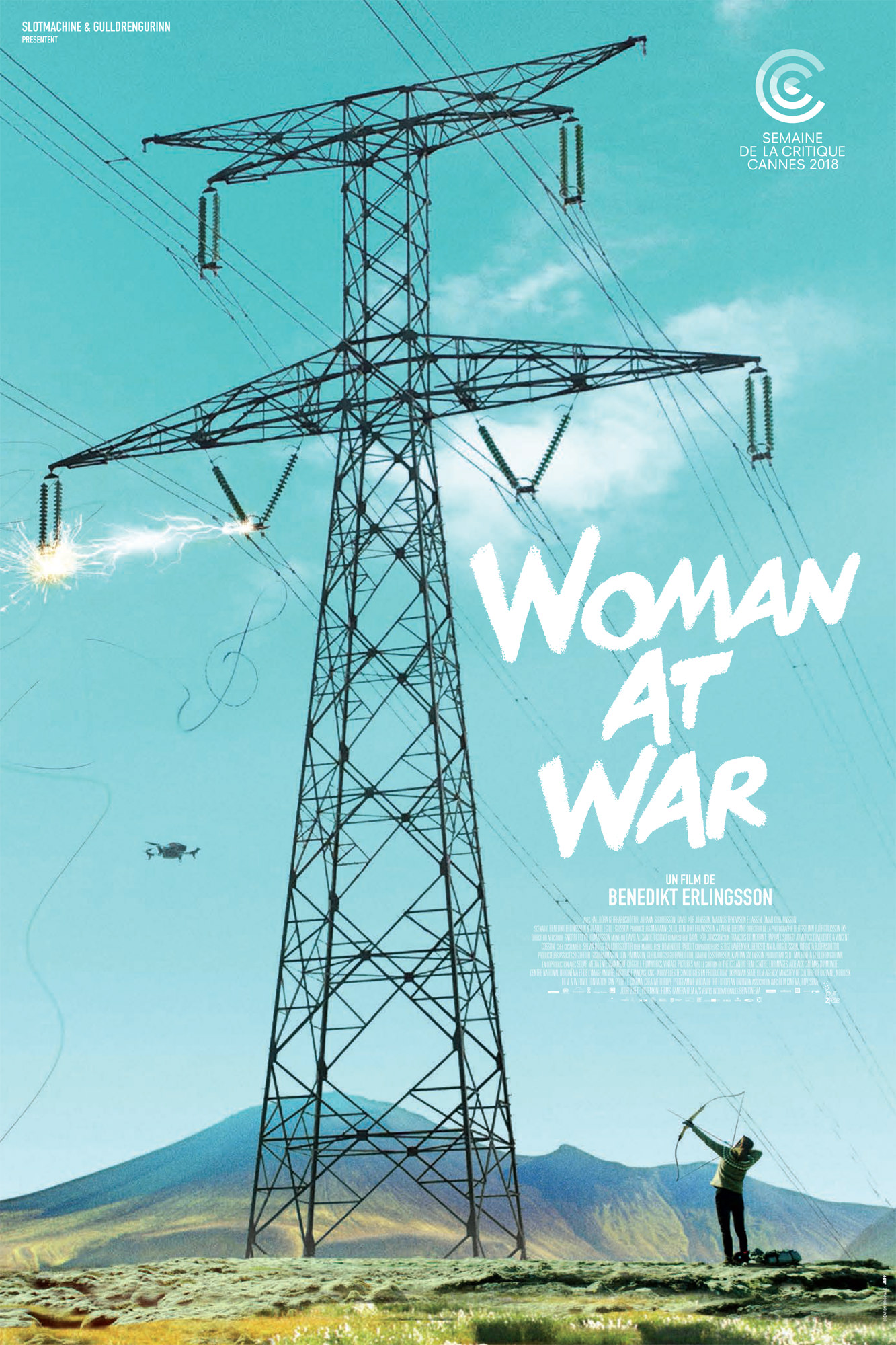 Woman at War - Affiche Cannes 2018