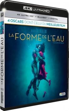 La Forme de l'eau (2017) de Guillermo del Toro - Packshot Blu-ray 4K Ultra HD