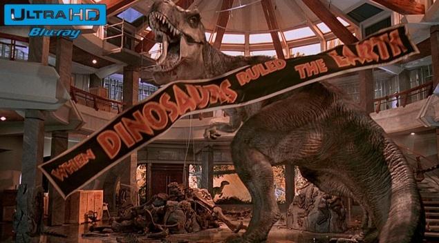 Jurassic Park (1993) de Steven Spielberg – Blu-ray 4K Ultra HD