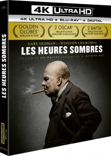 Les Heures sombres (2017) de Joe Wright – Packshot Blu-ray 4K Ultra HD