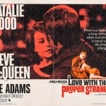 Une certaine rencontre (Love With the Proper Stranger) - Affiche US 1963