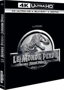 Le Monde perdu : Jurassic Park (1997) de Steven Spielberg – Packshot Blu-ray 4K Ultra HD