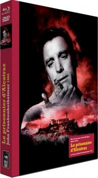 Le Prisonnier d'Alcatraz - Jaquette Blu-ray 3D